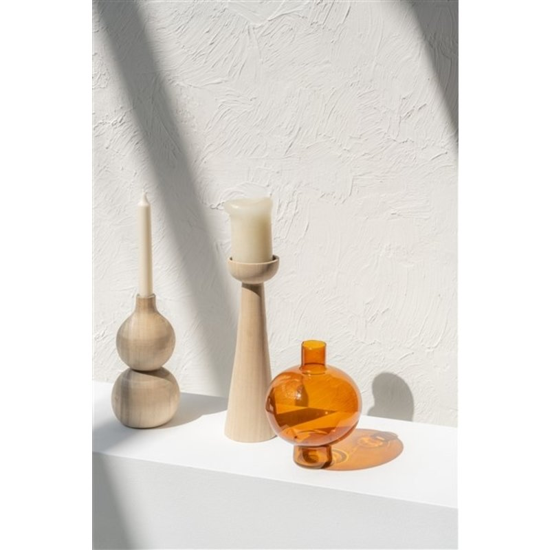 Urban Nature Culture-collectie Candle Holder Wood Lightness