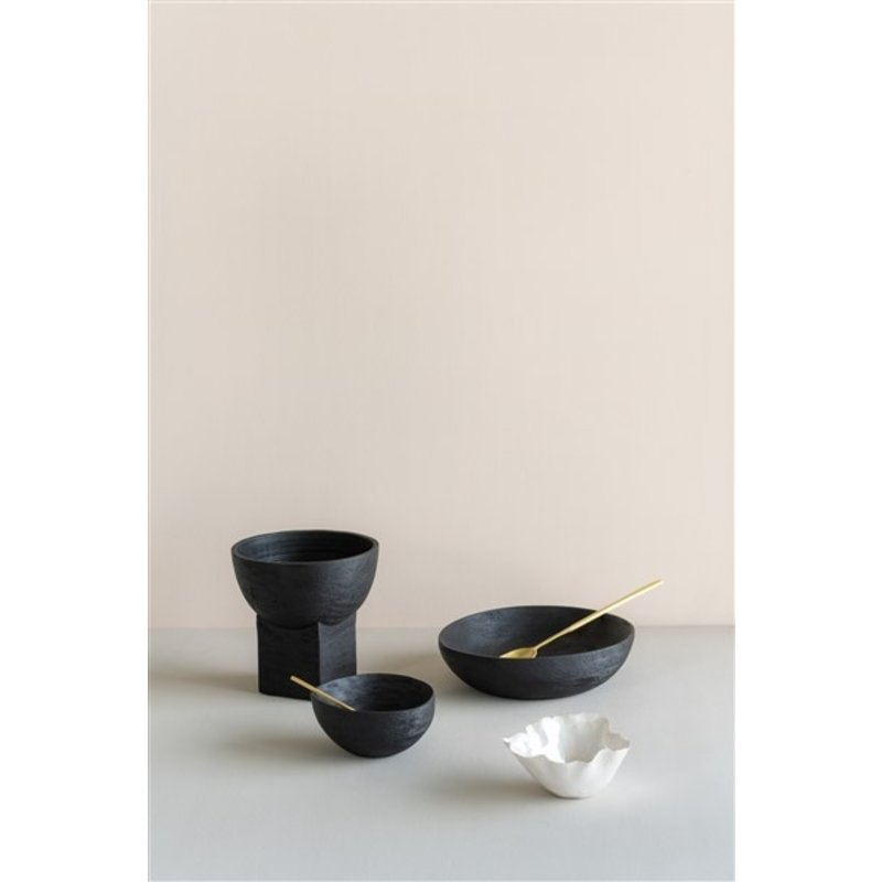 Urban Nature Culture-collectie Salad Bowl Smoked Wood