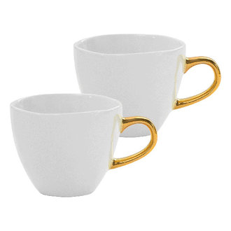 Urban Nature Culture Good Morning Cup Mini S/2 In Giftpack, White