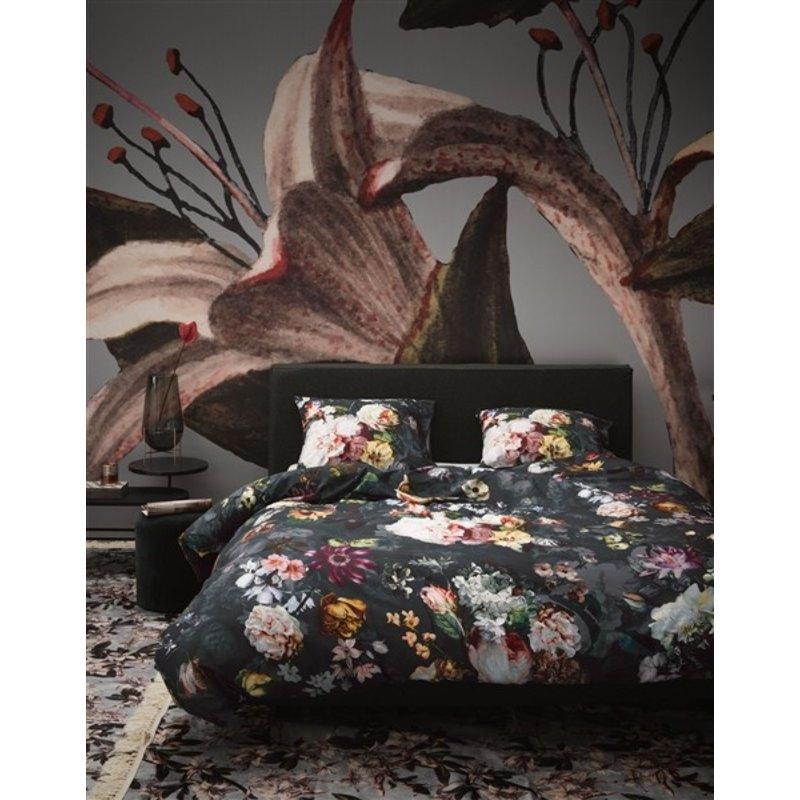 Essenza-collectie Dekbedovertrek Fleur Nachtblauw