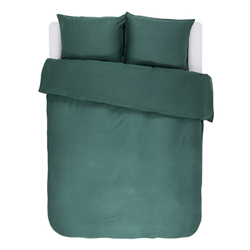 Essenza-collectie Essenza Filou Duvet cover 2p set 240x220+2/60x70 Green