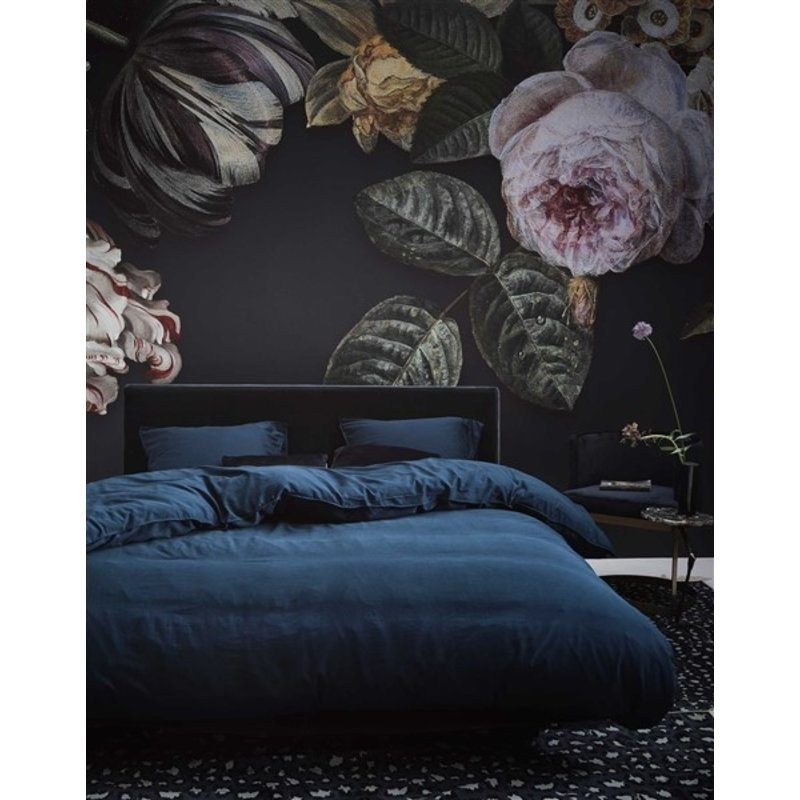 Essenza-collectie Essenza Filou Duvet cover 2p set 240x220+2/60x70 Navy