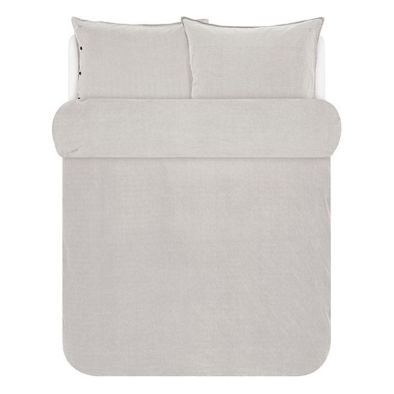 Marc O'Polo-collectie Marc O'Polo Duvet cover 1p set 140x220+60x70 Soft oatmeal