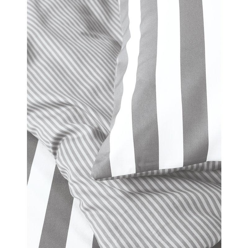 Marc O'Polo-collectie Dekbedovertrek Classic Stripe Grijs