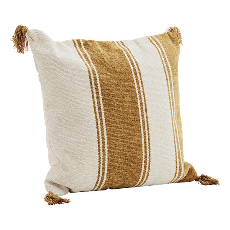Madam Stoltz-collectie Striped cushion cover