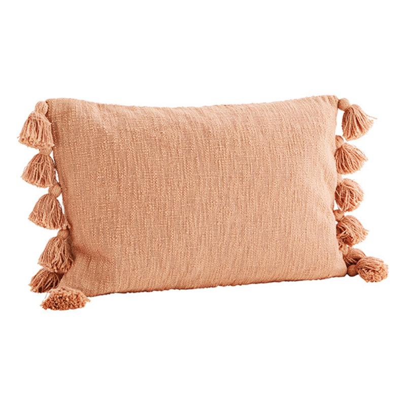 Madam Stoltz-collectie Cushion cover w/ tassels