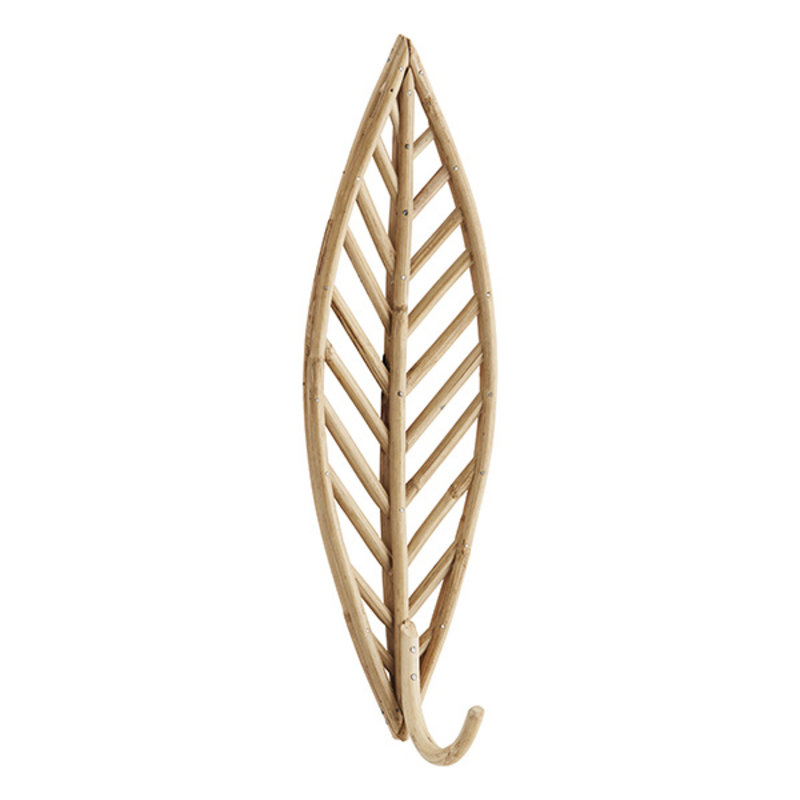 Madam Stoltz-collectie Bamboe wandhaak veer