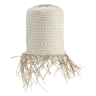 Madam Stoltz Seagrass lamp shade