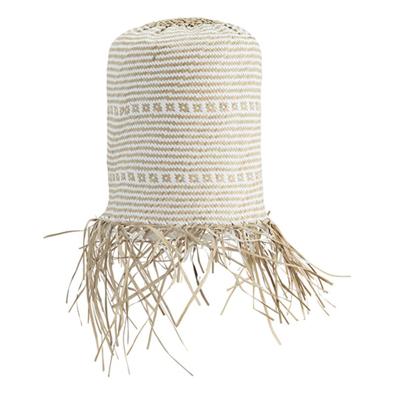 Madam Stoltz-collectie Seagrass lamp shade