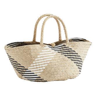 Madam Stoltz Seagrass bag
