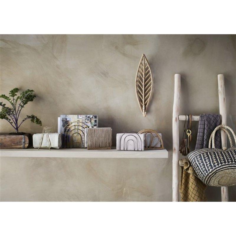 Madam Stoltz-collectie Bamboo napkin holder