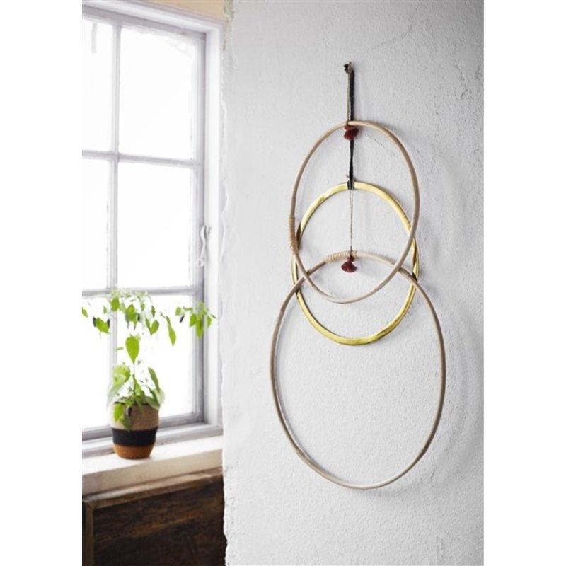 Madam Stoltz-collectie Hanging bamboo ring