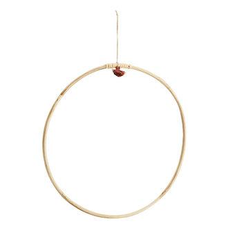 Madam Stoltz Hanging bamboo ring