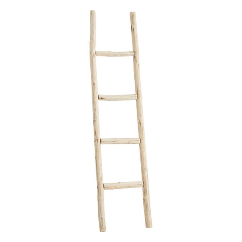 Madam Stoltz-collectie Houten decoratie ladder