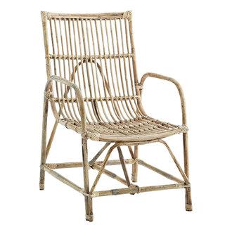 Madam Stoltz Bamboo chair Natural 64x52x88 cm