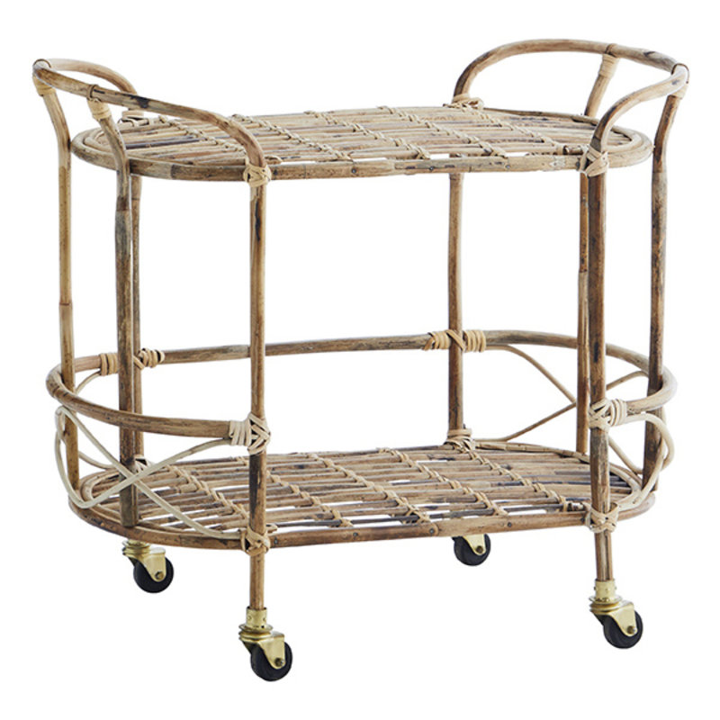 Madam Stoltz-collectie Bamboe trolley