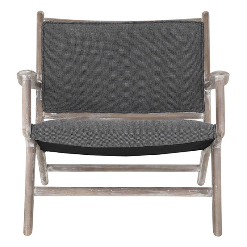 MUST Living-collectie Loungestoel Maxwell antracite