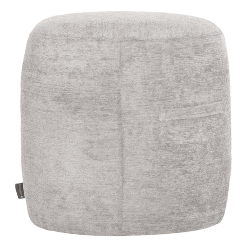 MUST Living-collectie Poef Rondo S taupe