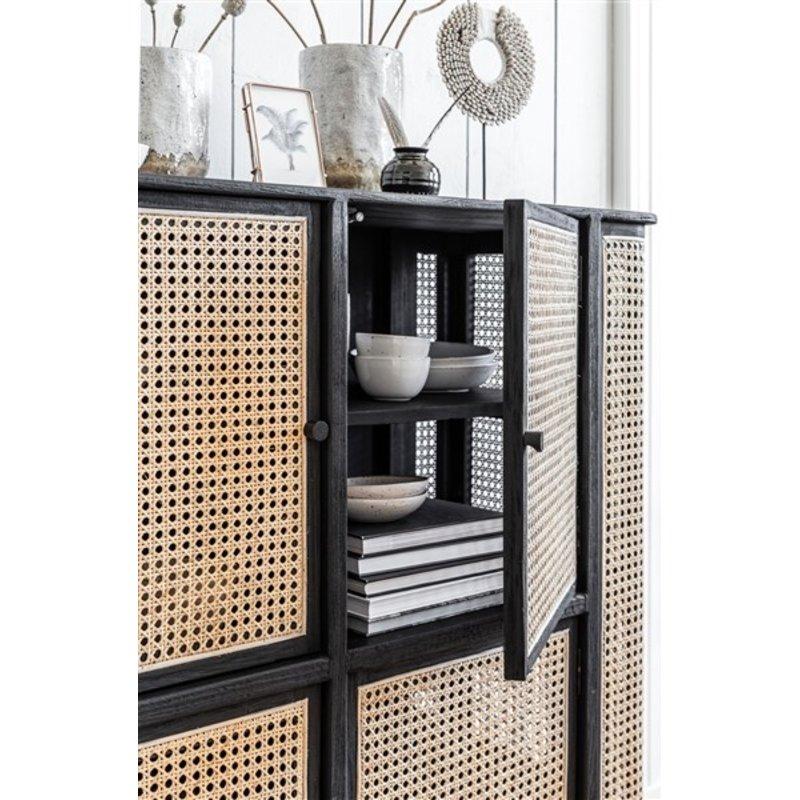 MUST Living-collectie Opbergkast Raffles 4 deurs