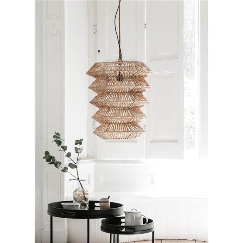 MUST Living-collectie Salontafel Golden Fiber set van 2 rond