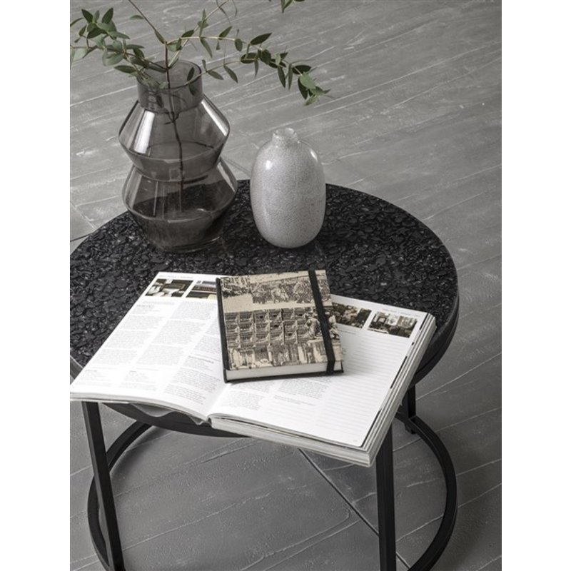 MUST Living-collectie Coffee table Palm Springs round Ø50