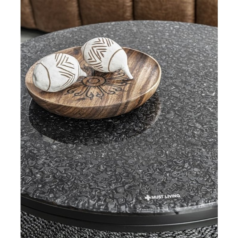 MUST Living-collectie Coffee table Palm Springs round Ø75