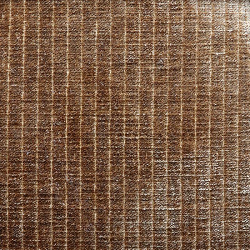 HKliving-collectie Vint bank hocker - corduroy velvet, aged gold