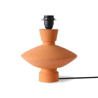 HKliving stoneware lamp base terra
