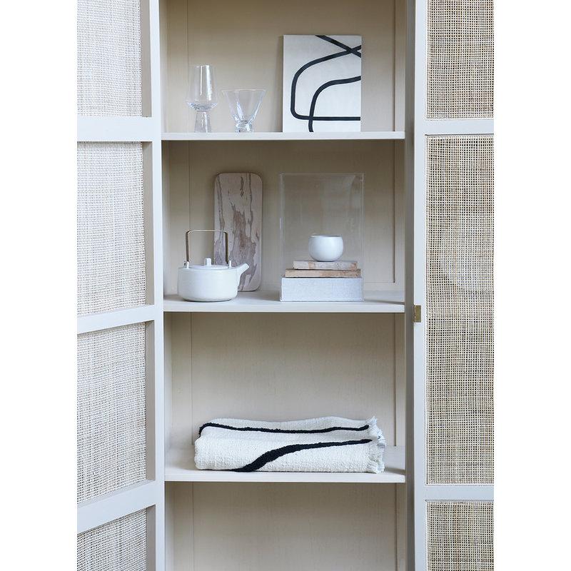 HKliving-collectie Retro webbing kledingkast zand