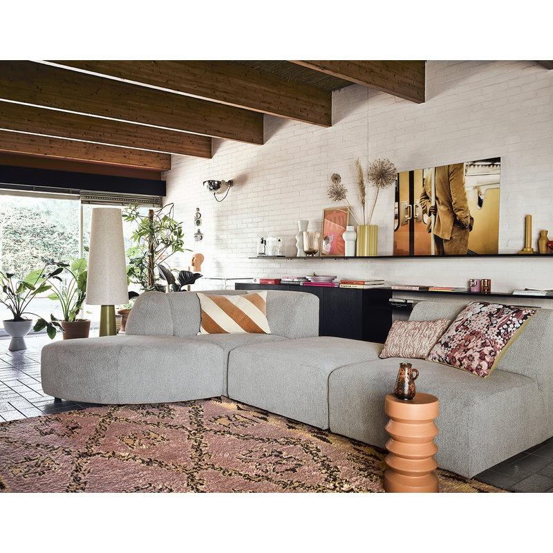 HKliving-collectie Handgeknoopt wollen berber vloerkleed terra/oranje 180x280