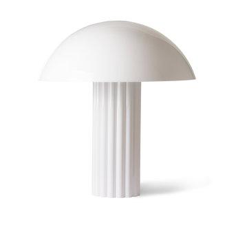 HKliving Cupola tafellamp wit