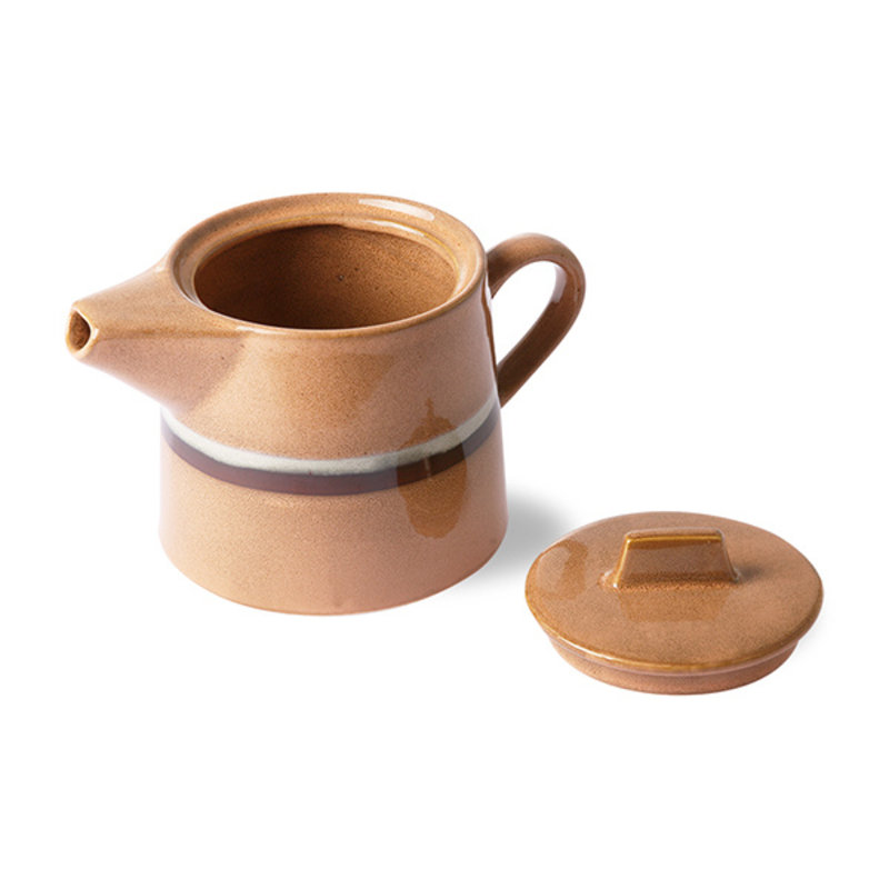 HKliving-collectie 70s ceramics: tea pot, stream