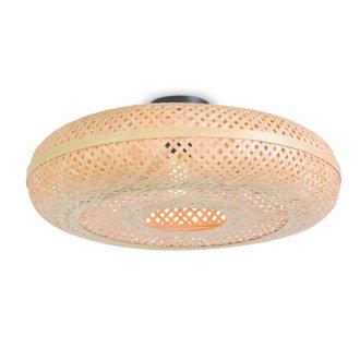Good&Mojo Ceiling lamp Palawan 60x15cm nat, L