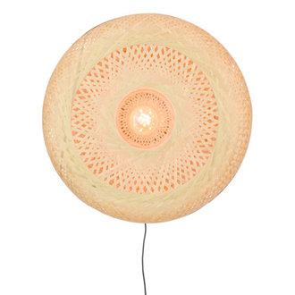 Good&Mojo Wall lamp Palawan 60x15cm natural, L