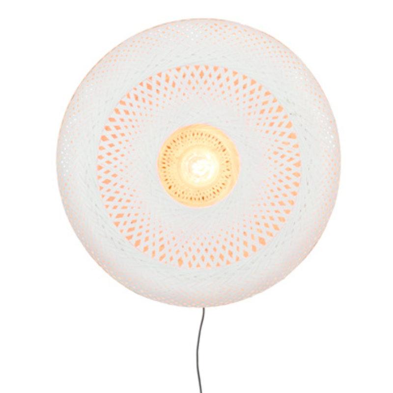 Good&Mojo-collectie Wall lamp Palawan 60x15cm nat./white, L