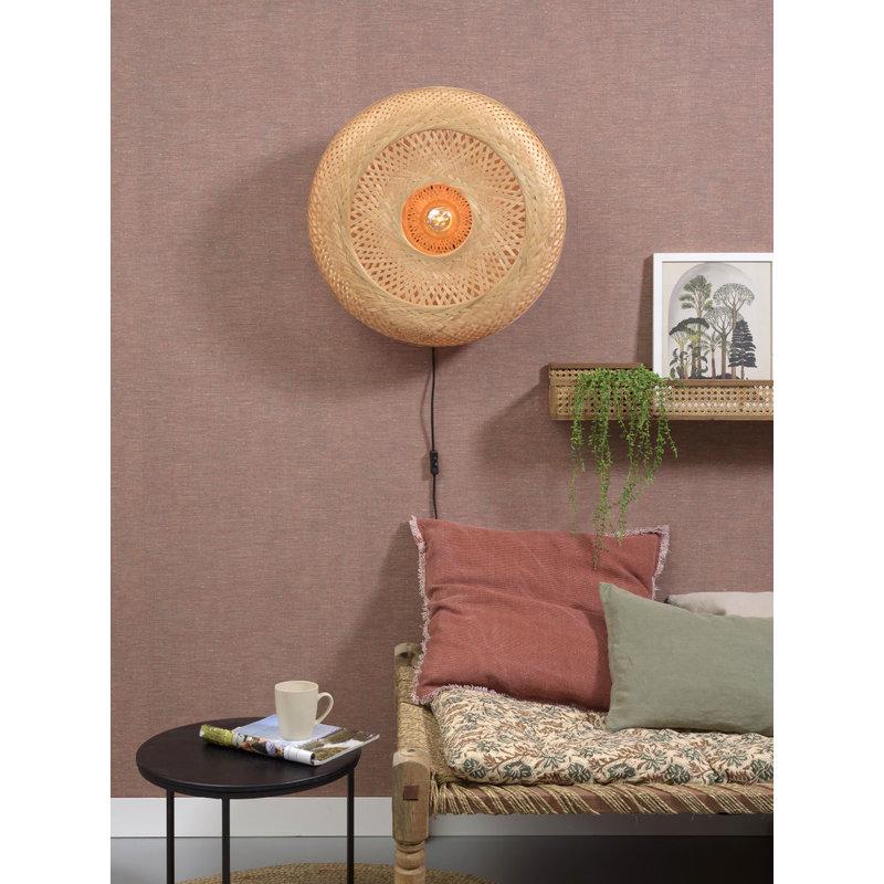 Good&Mojo-collectie Wall lamp Palawan 60x15cm natural, L
