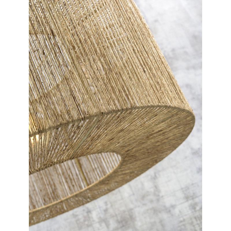 Good&Mojo-collectie Plafonniere Iguazu rond/recht 60cm L
