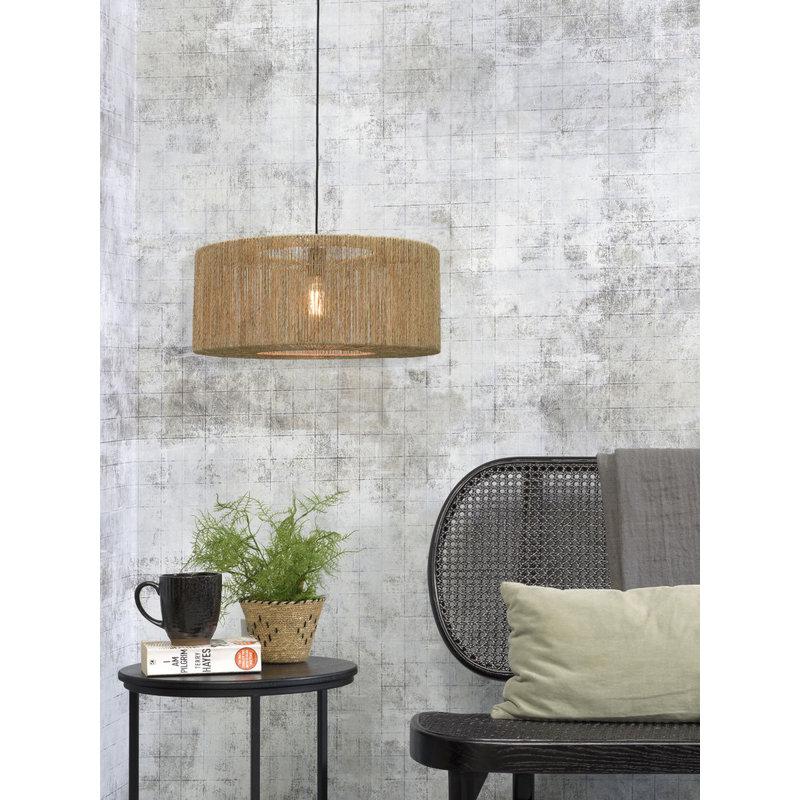 Good&Mojo-collectie Hanglamp Iguazu rond/recht 60cm L