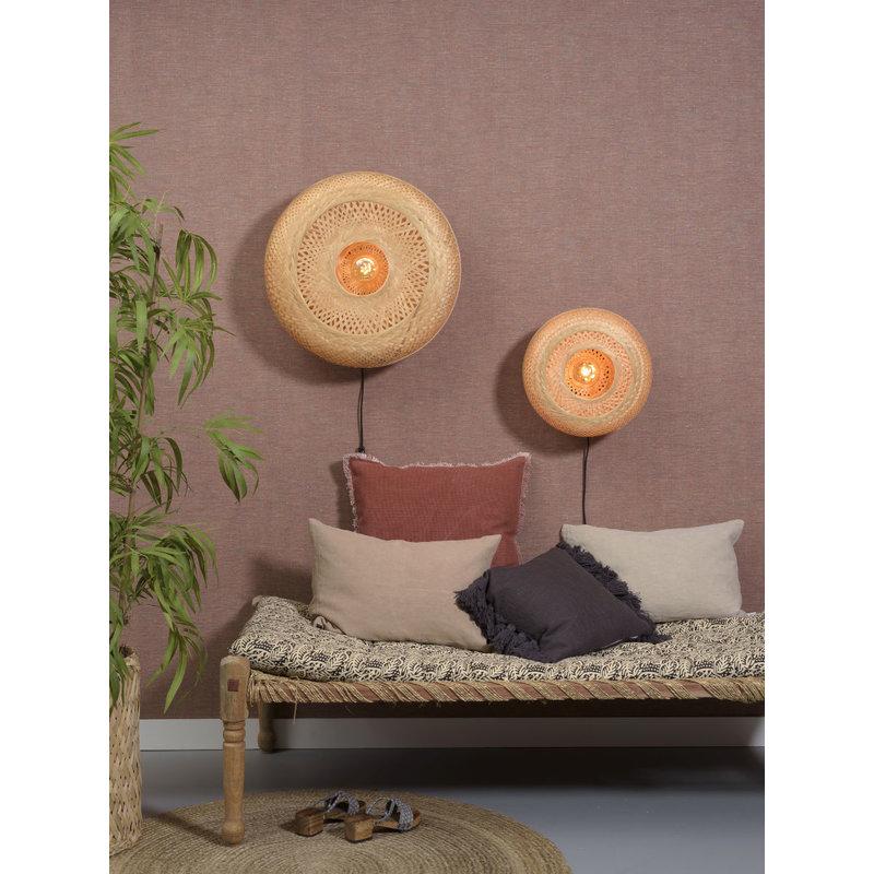 Good&Mojo-collectie Wandlamp Palawan 60cm naturel L