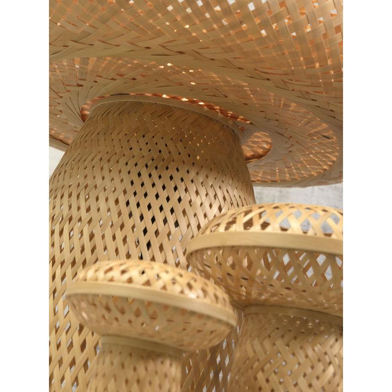 Good&Mojo-collectie Table lamp Palawan h.40x40cm natural set/3