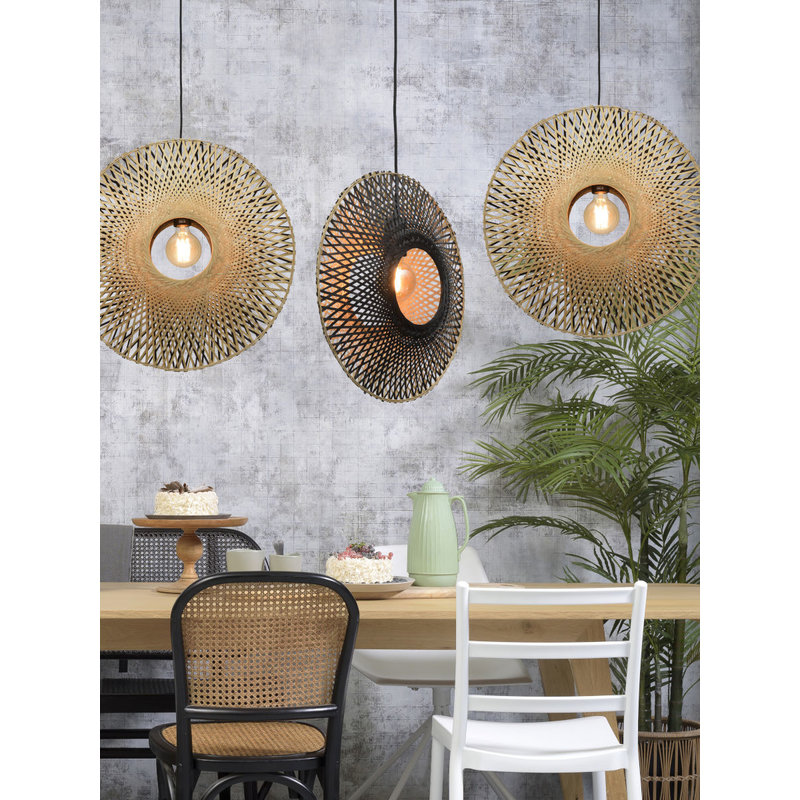 Good&Mojo-collectie Hanglamp Kalimantan verticaal M