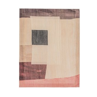 Urban Nature Culture Wall deco Khadi silk A