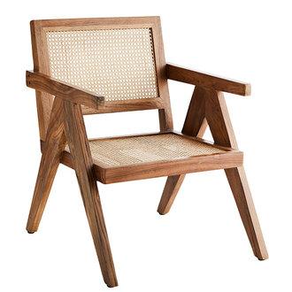 Madam Stoltz Webbing lounge stoel
