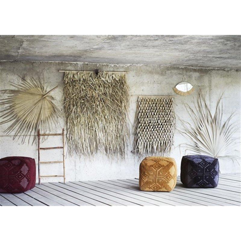 Madam Stoltz-collectie Wandkleed palmbladeren 120x150