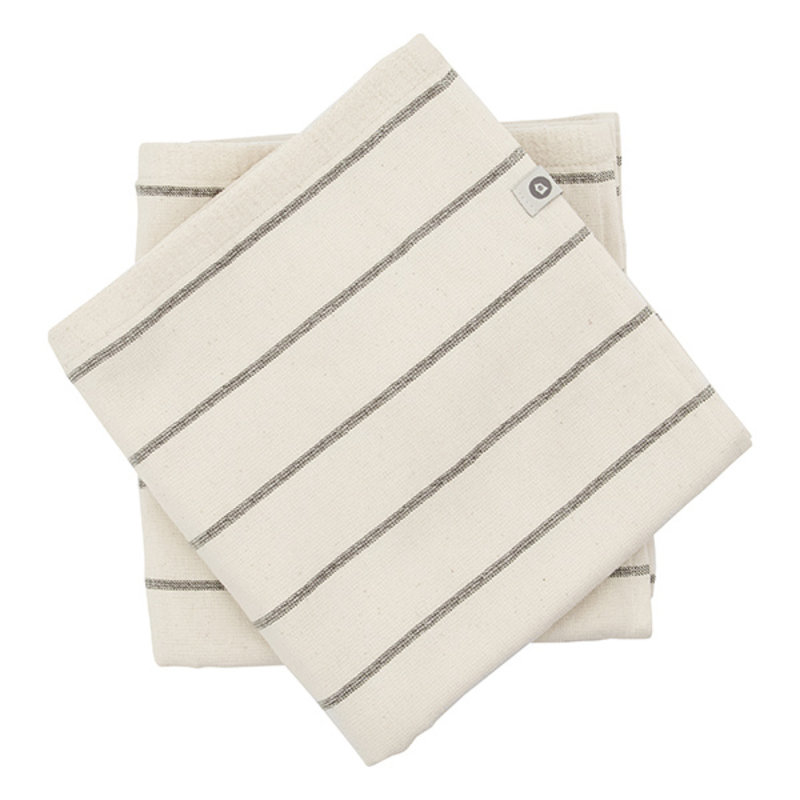 House Doctor-collectie House Doctor  Towel Bath Casa Off-White Pack of 2 pcs l: 70 cm w: 50 cm