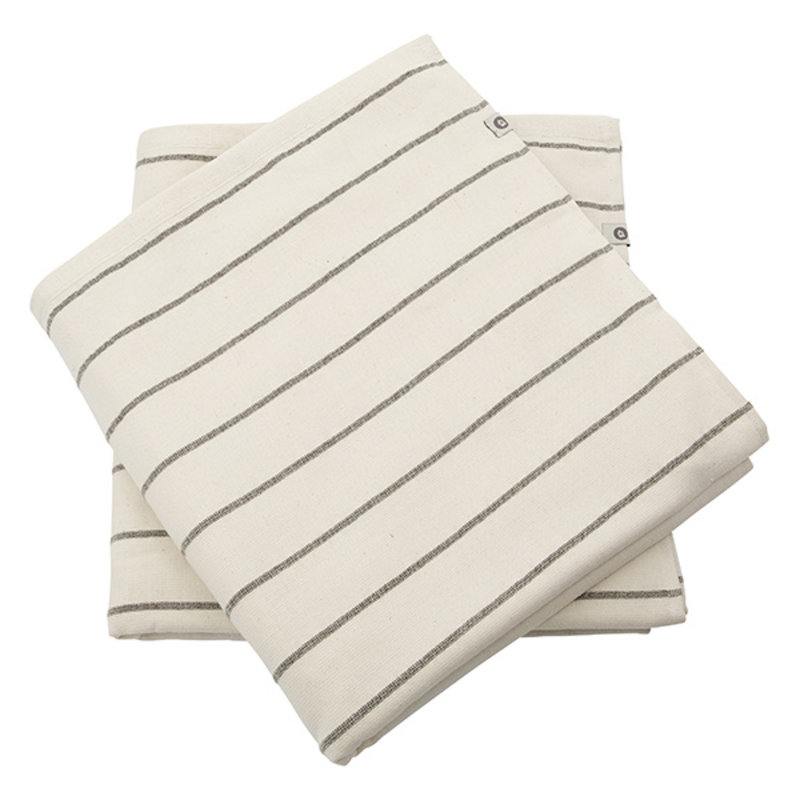 House Doctor-collectie House Doctor  Towel Bath Casa Off-White Pack of 2 pcs l: 140 cm w: 70 cm