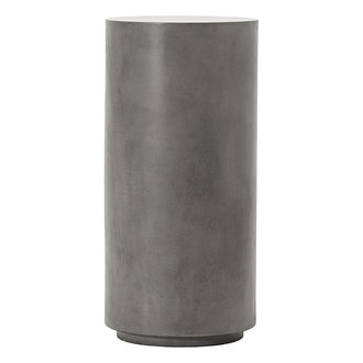 House Doctor Pedestal Out Grey h: 76 cm dia: 36 cm