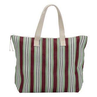 House Doctor Bag/Shopper Recy Red/Green Colour may vary