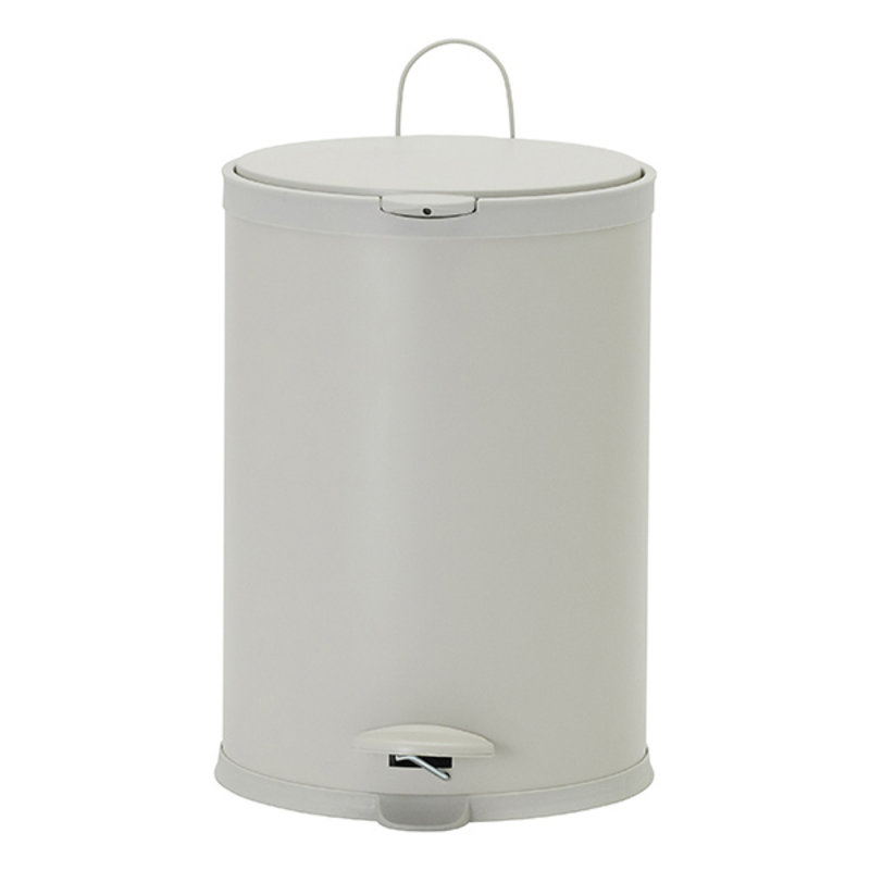 House Doctor-collectie House Doctor  Bin Eda Ecru 20 liters h: 44.5 cm dia: 41 cm