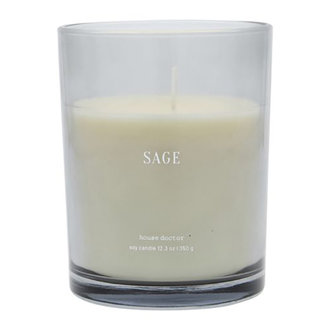 House Doctor Scented candle Sage Blue Burning time: 52 hours
